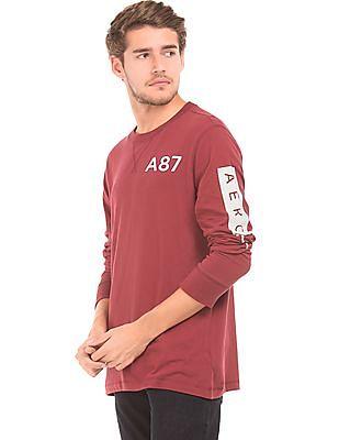 Aeropostale Round Neck Regular Fit T-Shirt