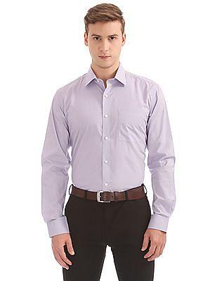 Arvind Regular Fit Printed Shirt