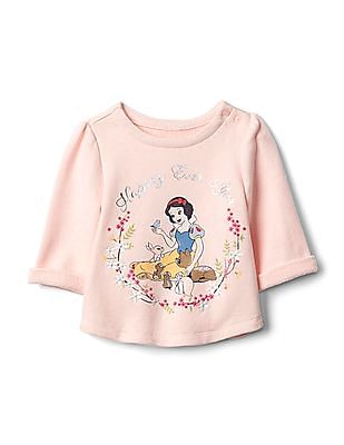 83f84b83e GAP Babygap | Disney Baby Snow White And The Seven Dwarfs Terry Pullover