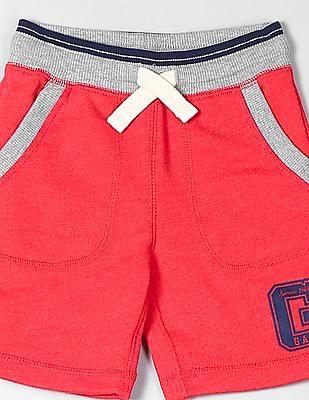 GAP Toddler Boy Logo Patch Pull-On Shorts