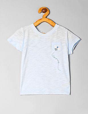 Buy Unisex Kids 000000043595141301 Essential Blue Unisex Kids T Shirt online at