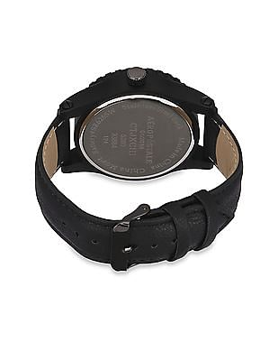 Aeropostale Synthetic Leather Strap Analogue Watch
