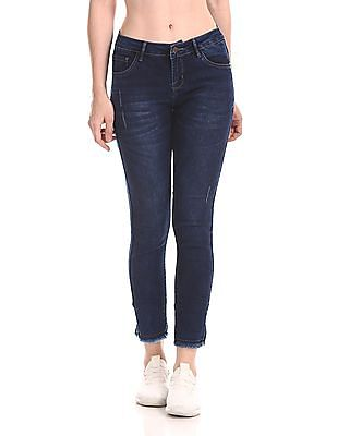 Cherokee Mid Rise Slim Fit Jeans