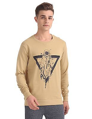 Colt Regular Fit Printed Sweatshirt