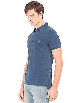 Aeropostale Washed Regular Fit Polo Shirt