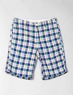 GAP Boys Everyday Shorts in Linen-Cotton