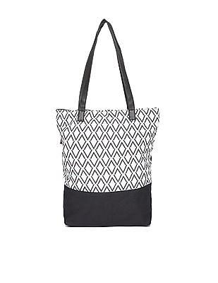 SUGR Shoulder Strap Printed Tote Bag