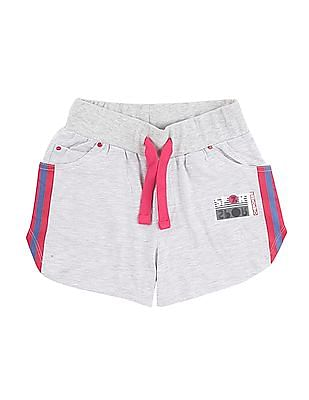Cherokee Girls Heathered Knit Shorts