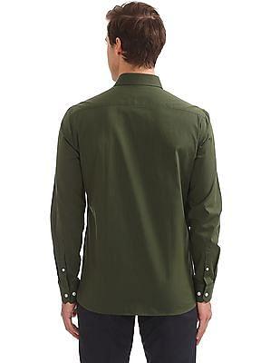 Arrow French Placket Dobby Shirt