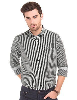 Nautica Slim Fit Tattersall Check Shirt
