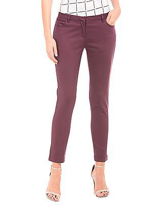 Cherokee Solid Low Rise Trousers