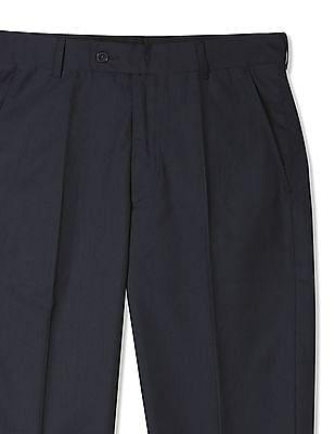 Arrow Regular Fit Striped Trousers