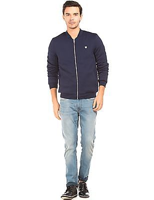 Arrow Sports Zip Up Quilted Puffer Jacket