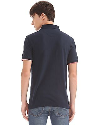 U.S. Polo Assn. Denim Co. Muscle Fit Jersey Polo Shirt