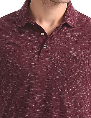 Cherokee Heathered Pique Polo Shirt