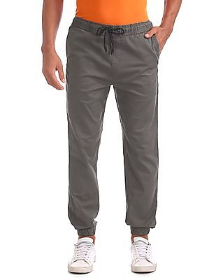 Aeropostale Slim Fit Woven Jogger Trousers