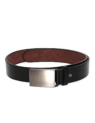 Colt Black Metallic Clip On Buckle Belt