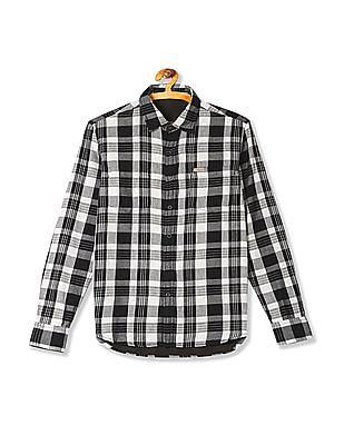 Flying Machine Spread Collar Reversible Shirt