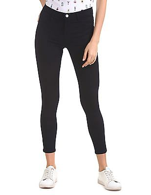 Flying Machine Women Betty Fit Mid Rise Jeggings