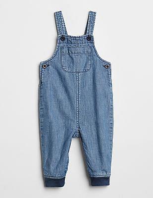 GAP Baby Denim Jogger Overalls