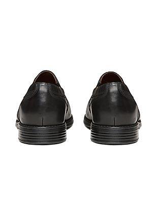 Johnston & Murphy D-Toe Leather Slip On Shoes