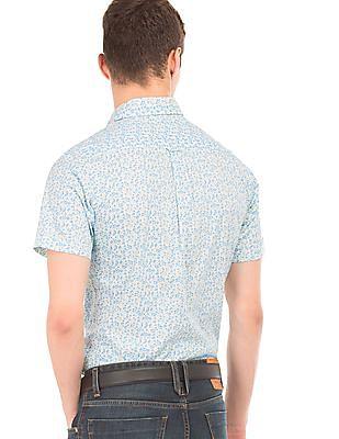 U.S. Polo Assn. Floral Print Regular Fit Shirt