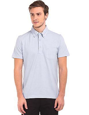 Arrow Solid Button Down Polo Shirt