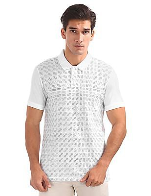 Arrow Newyork Regular Fit Printed Polo Shirt
