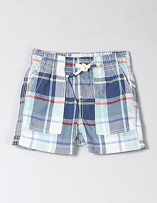 GAP Toddler Boy Print Pull-On Shorts In Twill
