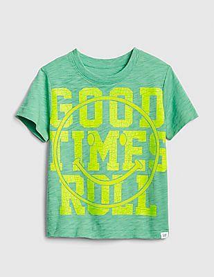 GAP Green Baby Graphic Short Sleeve T-Shirt