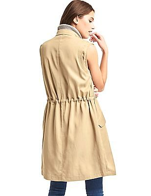 GAP Long Trench Vest