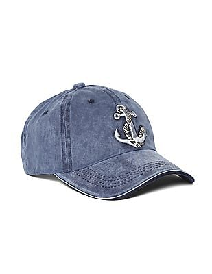 Colt Blue Appliqued Denim Cap