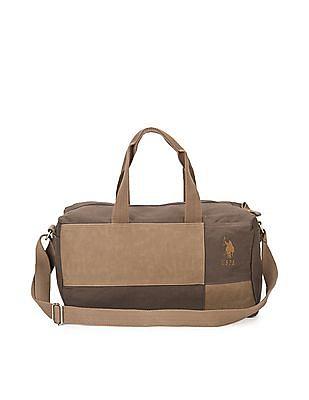 U.S. Polo Assn. Colour Block Duffel Bag
