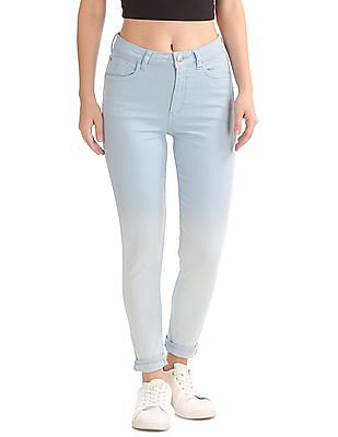 Flying Machine Women High Rise Skinny Jeans