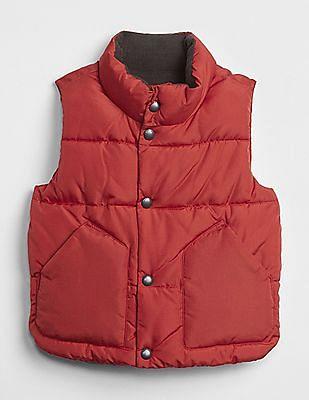 GAP Baby Red Puffer Vest