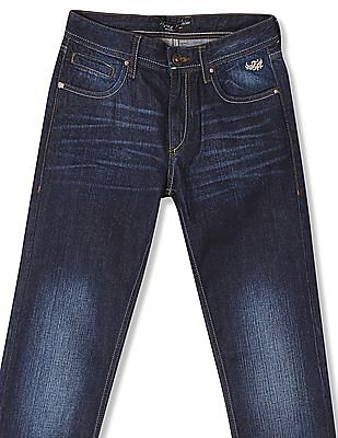 Flying Machine Skinny Fit Rinsed Jeans