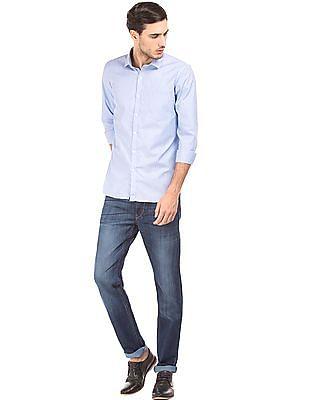 Excalibur Slim Fit Striped Shirt