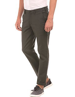 Ruggers Flat Front Slim Fit Trousers