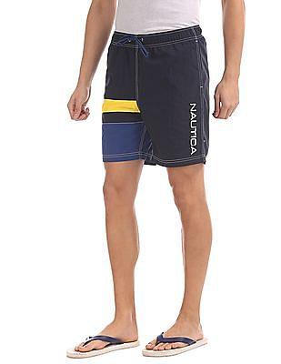 Nautica Colour Block Quick Dry Swim Shorts