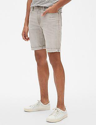 "GAP 10"" Denim Shorts In Slim Fit With GapFlex"