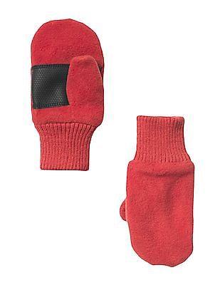 GAP Baby Red Pro Fleece Mittens