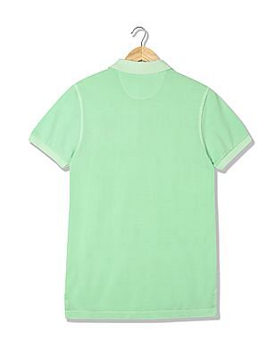 Ed Hardy Regular Fit Pique Polo Shirt