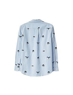 GAP Boys Batman Oxford Shirt
