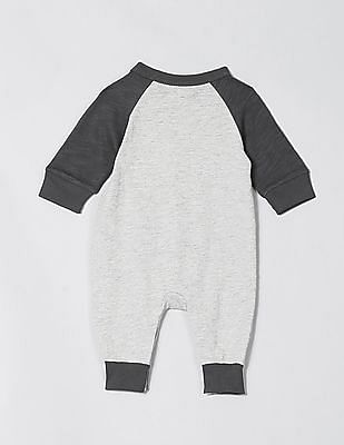 GAP Baby Grey Mickey Mouse Bodysuit