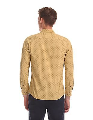 Ruggers Regular Fit Printed Shirt