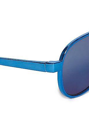 The Children's Place Blue Boys Metallic Frame Sunglasses