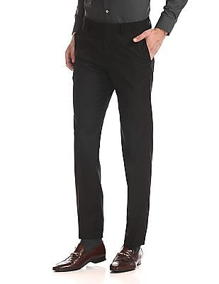 USPA Tailored Tailored Regular Fit Solid Trousers