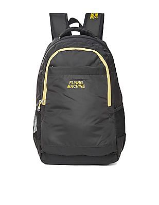 8e8259432ca5 Flying Machine Contrast Trim Laptop Backpack. SHOP NNNOW