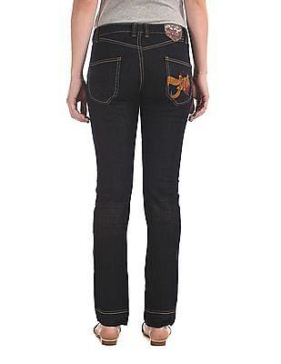 Flying Machine Women Scarlet Slim Fit Rinsed Jeans