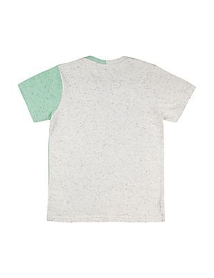 Cherokee Boys Colour Block V-Neck T-Shirt